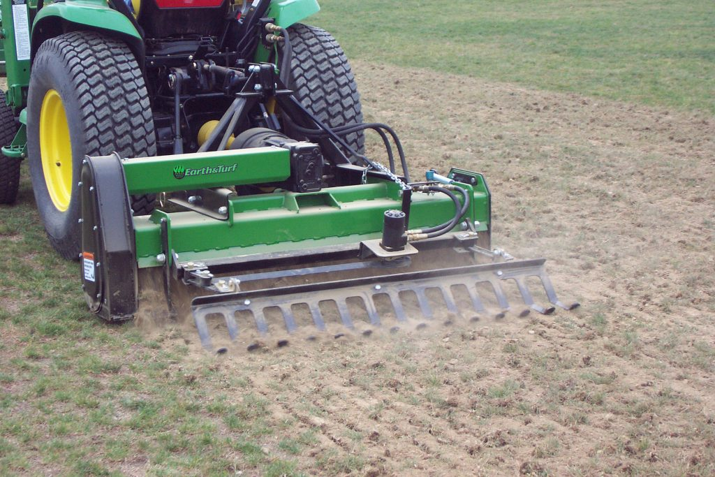 linear aerator pto powered linear aerator earth and turf