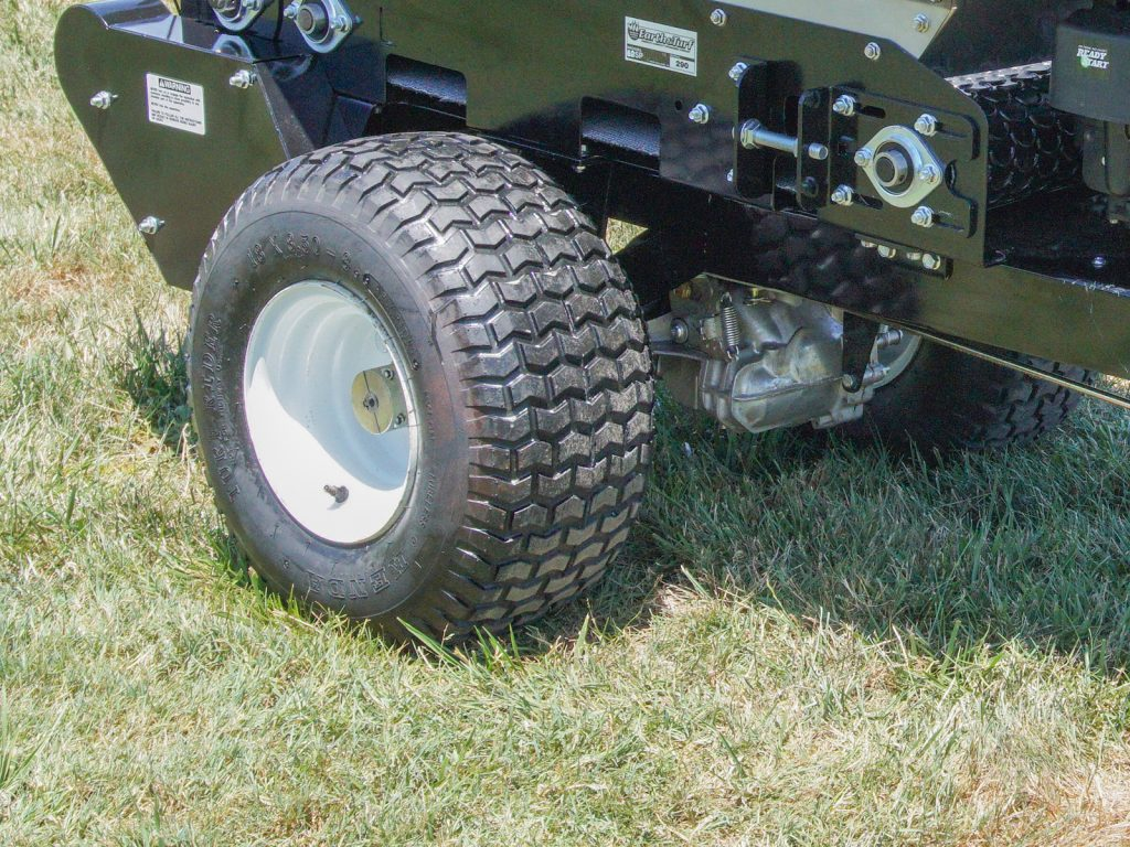 multispread 100sp earth and turf turf tires topdresser