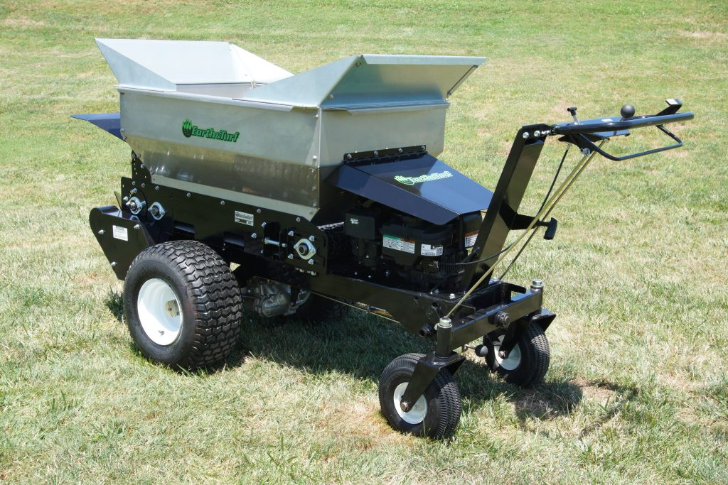 multispread 100sp topdresser earth and turf