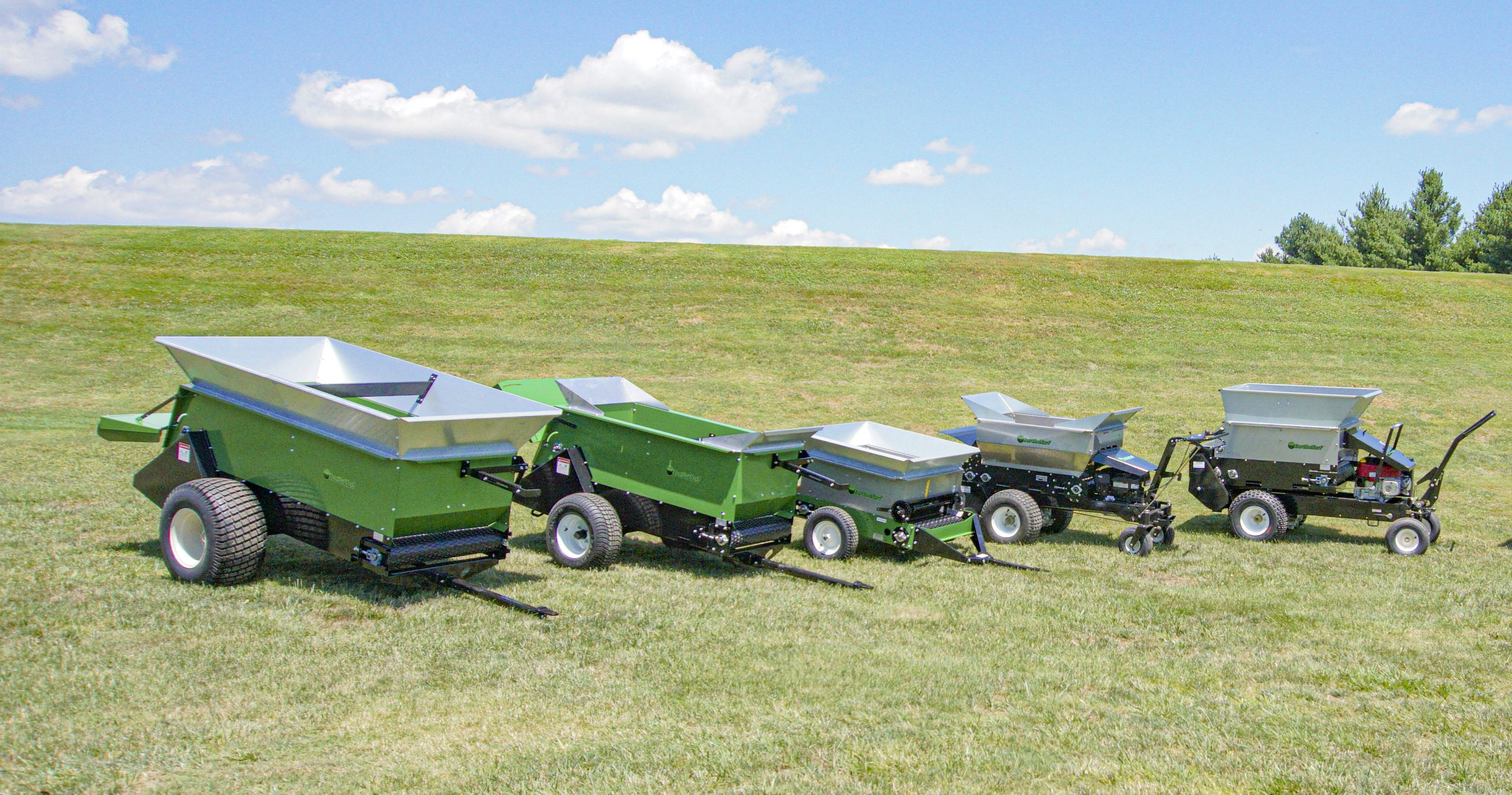 earth and turf multispread lineup