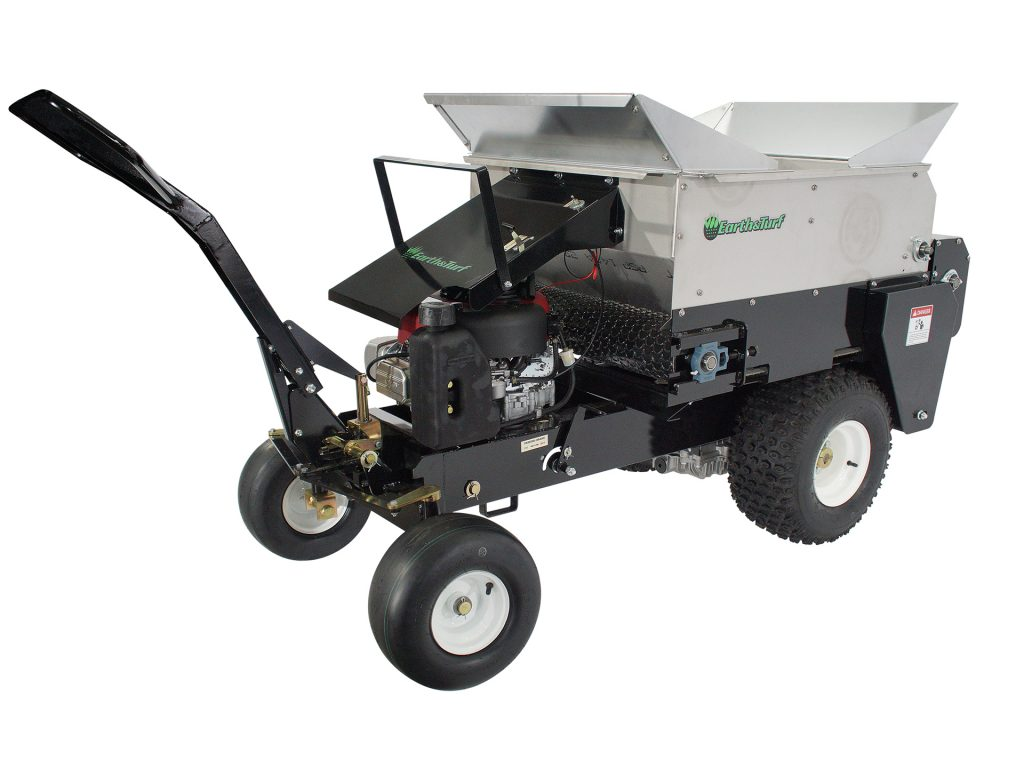 hydrostatic drive multispread 100sp topdresser earth and turf