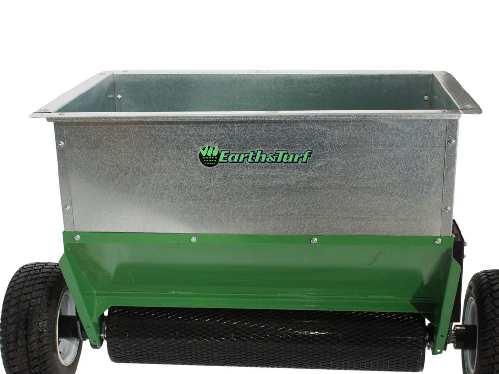 earth and turf truflow topdresser 36d drum