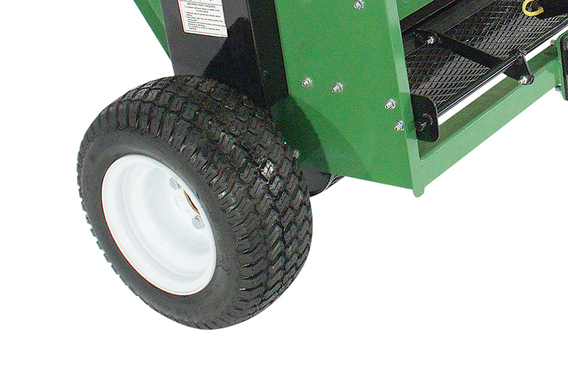 earth and turf truflow topdresser 36d wheel